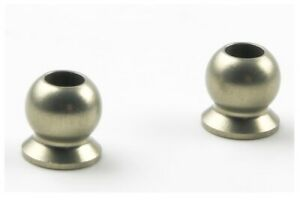NEW Kyosho Inferno 5.8mm Hard Anodized Flanged Ball (2) IF462H