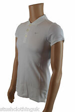 Nike Womens Polo Shirt White (NKST002)