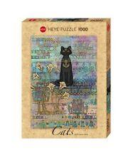 Puzzle Puzzel Egyptian Cats Cat Katze Katzen Ägypten Kitten Jane Growther 1000