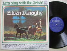 EILEEN DONAGHY 'LET'S SING WITH THE IRISH' VINYL LP, 1st PUBLISHED 1961 RARE LP.