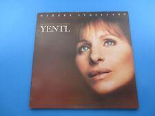 Barbra Streisand Yentl Original Soundtrack Album LP Vinyl 1983 Columbia Records