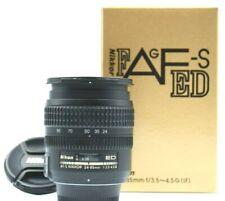 Nikon AF-S NIKKOR 24-85mm F/3.5-4.5 G ED SWM IF Aspherical Lens w Box Excellent