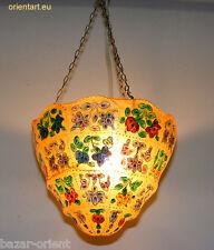 Orient handbemalte Lampe Kamelleder Decken Hängelampe Camel Skin Lamp No:9