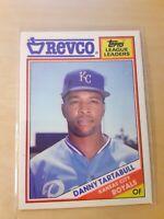 1988 Topps Revco#26 Danny Tartabull Kansas City Royals Baseball Card, OF, LF, CF