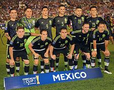 Oribe Peralta Signed Auto'D 11X14 Photo Poster El Tri Mexico Miguel Layun Munoz