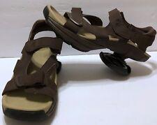 Z-Coil Sidewinder Brown Sandals Size 13 Heel Pain Relief All Terrain Strap Walk