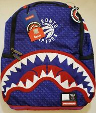 SOLD OUT Sprayground Toronto Raptors NBA Backpack Limited Edition NWT NEW Champs