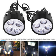 2pcs 24W Universel LED Phare Feux de Travail Spot Light lampe Projecteur Moto