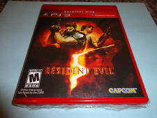 Resident Evil 5  (Sony Playstation 3, 2009) NEW PS3