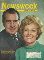 NEWSWEEK Magazine President & Mrs Richard Nixon January 27 1969