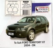 FORD TERRITORY CUSTOM MADE FRONT AND REAR 2004 ON TO CURRENT MODEL