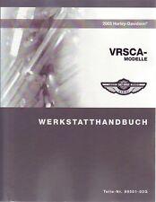 HARLEY-DAVIDSON Wartungshandbuch 2003 VRSCA VRod V-Rod Buch DEUTSCH Anleitung