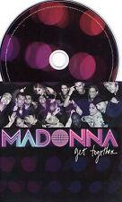 CD CARTONNE CARDSLEEVE 2T MADONNA GET TOGETHER DE 2006 NEUF SCELLE SEALED