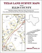 Ellis County Texas Land Survey Maps Genealogy History