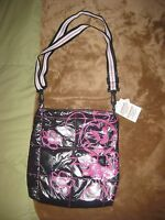 NWT DISNEY PARKS MINNIE MOUSE CROSSBODY MESSENGER QUILTED BAG PURSE FREE SHIPPIN