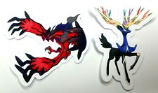 Xerneas and Yveltal - 2 Pokemon Vinyl Legendary Sticker Set