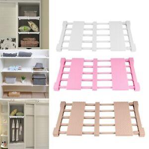 Expandable Wardrobe Storage Closet Organiser for Wardrobe Airing Cupboard Shelve