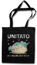 UNITATO STOFFTASCHE Unicorn Potato Einhorn Regenbogen Rainbow Kartoffel Fun