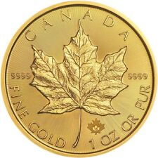 2018 1 oz Canadian Gold Maple Leaf Coin (BU)