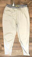LL Bean Women's SMALL gray base layer lightweight pants