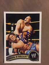 Konnor Signed WWE Topps 2011 NXT Card Conor O'Brian