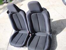 MAZDA MIATA DRIVER PASSENGER SEAT with AIR BAG 06 07 08 09 10 11 12 BLACK