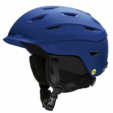 Smith Mens Level MIPS Ski Snow Helmet Matte Klein Blue
