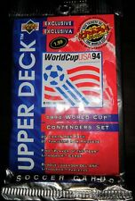 Upper Deck 1994 World Cup USA Contenders Soccer Set 1 Unopened Pack 20 Cards NEW