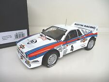 1:18 Kyosho Lancia 037 Rally Monte Carlo 1985 No. 4 Martini 08302D  NEU NEW