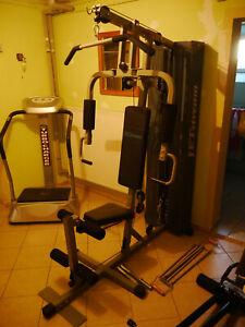 Kraftstation Fitnessstation Heimtrainer Fitnesscenter Fitnessgerät Latzug