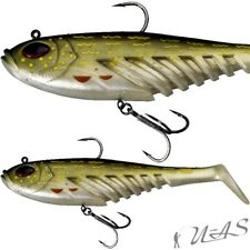 BERKLEY POWERBAIT MONTIERT FLAT GIANT 23CM PIKE TOP SOFT BAIT GUMMIFISCH