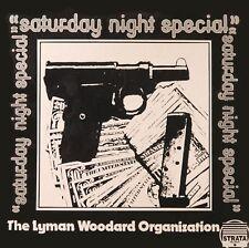 LYMAN WOODARD ORGANIZATION Saturday Night Special STRATA RECORDS Sealed Vinyl LP