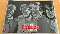 "VTG Poster Rolling Stones Voodoo Lounge Tour Licensed Poster 1994 32 x 22"""