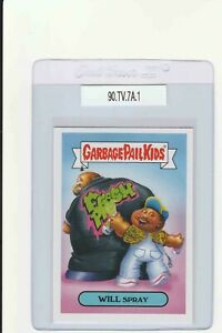 Garbage Pail Kids Will Spray 7a GPK 2019 We Hate The 90s trading card sticker