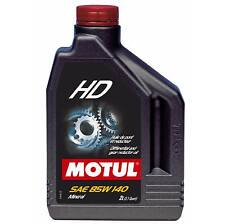 Motul 2 Litres Of Gearbox / Transmission HD 80W90 Mineral Gear Oil