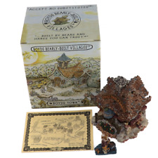 Boyds Bearly Built Villages Bear Cocoa's House Of Chocolate #19009 Original Box