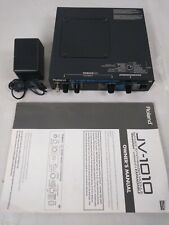 Roland JV-101064-Voice Synth Sound Module w/Power Supply & Manual H4