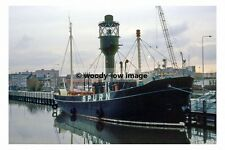pt7701 - Spurn Lightship in Hull Docks - photograph 6x4