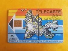 Télécarte Taaf n° 02 - Iles Kerguelen