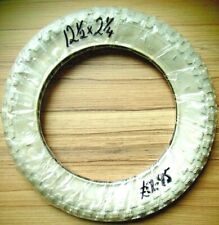 """SCOOTER / BIKE TYRE ALL WHITE 12"""" & 1/2 X 2 & 1/4"""" RRP £12.95 RARE (62-203)"""