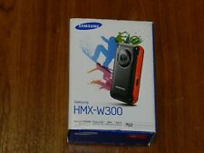 New Open Box - Samsung Hmx-W300 Full Hd Camcorder - Black/Red - 036725304499