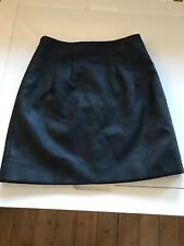 *TOPSHOP PETITE* PU short black skirt in size 4, excellent condition.