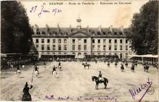 CPA SAUMUR Ecole de Cavalerie Exercices du Carrousel (606432)