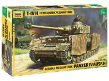 Zvezda 1/35 escala Panzer IV Ausf.h WW2 Alemán tanque