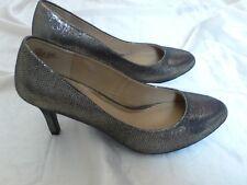 6 Nuevos Zapatos De Bronce Metálico por Duna