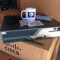CISCO C3825-VSEC-CCME/K9 Cisco3825  Router IOS 15.1 w/PVDM2-48 CME 8.6 512D/256F