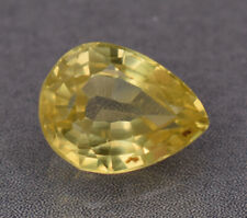 5.00 ct Certified Natural Ceylon Yellow Sapphire Pear Cut Loose Gemstone