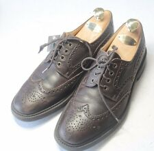 ALFRED SARGENT for Brooks Brothers Sz 9.5 D/10 D US Brown Wingtips Oxford Shoes
