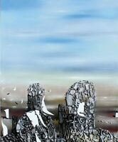 "YVES TANGUI Poster or Canvas Print ""Double Solitaire"""