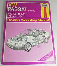 Haynes Passat 1988 Car Service & Repair Manuals for sale   eBay